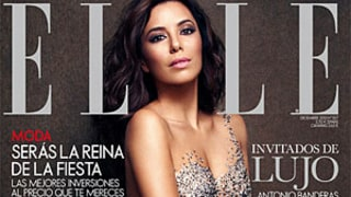 Eva Longoria Naked, Covered in Crystals on Elle Spain Cover: See the Picture