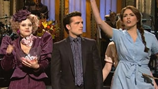 Josh Hutcherson Mocks Peeta Mellark's Weakness While Hosting Saturday Night Live: See the Hilarious Opening Sketch
