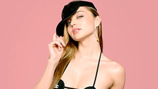 Miranda Kerr Rocks Barely There Mini Chanel Bra in New Modeling Video: See the Picture