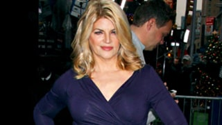 Kirstie Alley Shows Off Slim Body in Tight Dress, Blonder Hair on Good Morning America