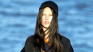 Alessandra Ambrosio Rocks Bleached Eyebrows, Black Hair in Edgy Beach Photo Shoot: Picture