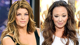 Kirstie Alley Slams Leah Remini as a
