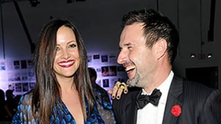 David Arquette Points at Pregnant Girlfriend Christina McLarty's Baby Bump at Miami Party: See the Picture