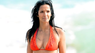 Padma Lakshmi Nurses Hangover in Skimpy Bikini in Miami: See the Picture