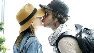 Leighton Meester, Adam Brody Kiss in Cape Town: First Post-Engagement Pictures