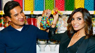Mario Lopez and Courtney Mazza Open The Sugar Factory in Las Vegas