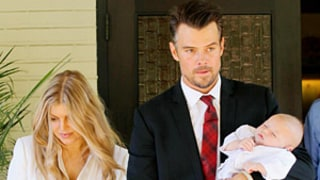 Fergie and Josh Duhamel Celebrate Baby Axl's Baptism: Pictures