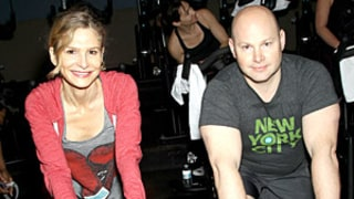 Kyra Sedgwick and Dan Kluger Host A Charity Ride At Flywheel In NYC