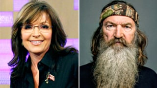Sarah Palin Defends Duck Dynasty's Phil Robertson: