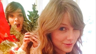 Taylor Swift, BFF Hailee Steinfeld Bake Christmas Cookies, Make Cards Together: Pictures
