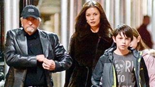 Michael Douglas, Catherine Zeta-Jones Photographed Together for First Time Since Separation