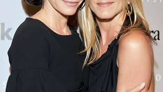 Jennifer Aniston and Courteney Cox