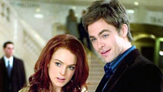 Chris Pine Talks Working With Lindsay Lohan: