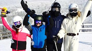 Michael Douglas, Catherine Zeta-Jones Ski With Family Over Holidays: Picture