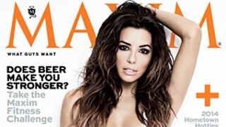 Eva Longoria Is Maxim's Woman of the Year 2014: See Her Sexy Cover!