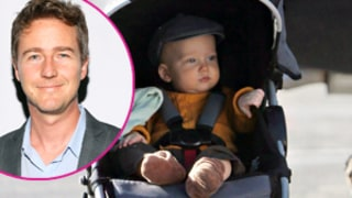 Edward Norton Debuts Baby Boy 10 Months After Birth: Picture