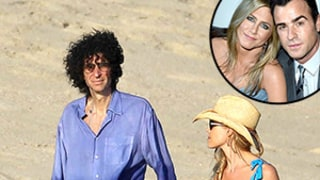 Howard Stern Dishes on Mexico Vacation With Jennifer Aniston,