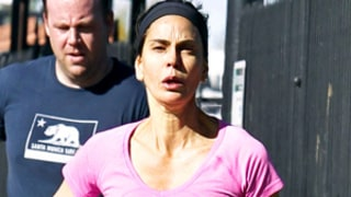 Teri Hatcher Goes Without Makeup While Jogging in Los Angeles: Picture