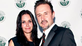 Courteney Cox's Initial Reaction to David Arquette's Baby News: 'Woo, Heavy!'