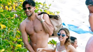 Olivia Palermo, Fiance Johannes Huebl Sunbathe in Swimsuits on Nude Beach: Picture