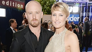 Robin Wright, Ben Foster Hit Golden Globes Red Carpet After Surprise Engagement: First Picture