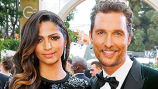 Matthew McConaughey Wins Best Actor, Thanks Wife Camila Alves at 2014 Golden Globes for