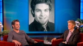 Chris Pine's Dorky Yearbook Photo Unearthed by Ellen DeGeneres: See It Here