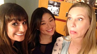 Heather Morris Makes First Appearance Since Giving Birth For 100th Glee Episode: Photo