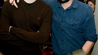 BIll Hader and Luke Wilson