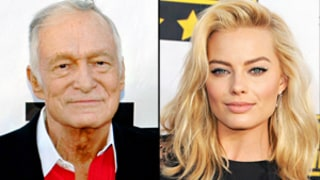 Hugh Hefner Says Margot Robbie Should Do Playboy; Crystal Harris Marriage