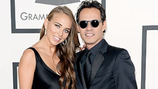 Marc Anthony, 45, and Girlfriend Chloe Green, 22, Cuddle in Audience at 2014 Grammys: Video