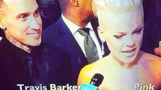 Ellen DeGeneres Show Mistook Pink's Husband Carey Hart for Travis Barker at 2014 Grammys