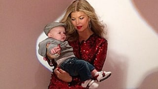 Fergie Flaunts Incredible Post-Baby Body In Picture With 4-Month-Old Baby Axl Jack