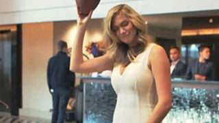 Kate Upton Learns the Touchdown Dance From Tracy Morgan: Watch the Video