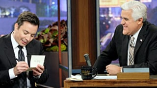 Jimmy Fallon Writes Thank You Notes to Jay Leno for