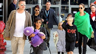 Angelina Jolie, Brad Pitt Return to L.A. With All Six Kids: See the Pictures!