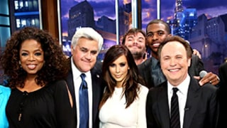 Kim Kardashian, Oprah Winfrey, Billy Crystal Send Off Jay Leno With Sound of Music Parody