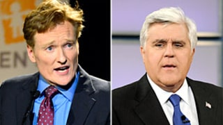 Conan O'Brien Mocks Jay Leno's Tonight Show Exit With One