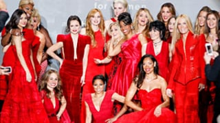 Lindsey Vonn (on Crutches!), AnnaSophia Robb, Nene Leakes, and More Celebs Strut Their Stuff in Red Dress Show