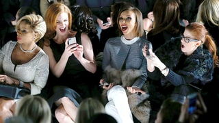 Mary J. Blige, Sarah Rafferty, Giuliana Rancic and Debra Messing