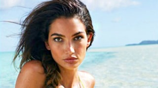 Lily Aldridge Rocks Neon Bikini for Sports Illustrated's Swimsuit Issue, Is Rookie No. 8: Picture