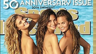 Sports Illustrated Releases Its 2014 Swimsuit Cover: Chrissy Teigen, Nina Agdal and Lily Aldridge Stun In Bikinis