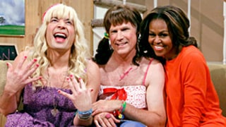 Michelle Obama Joins Jimmy Fallon, Will Ferrell in Hilarious Tonight Show Sketch