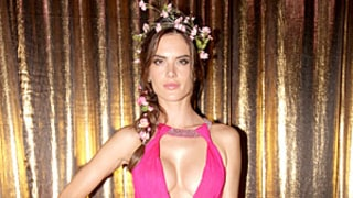 Alessandra Ambrosio Exposes Crazy Cleavage in Revealing Hot-Pink Gown: So Hot or So Not?