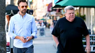 Jason Sudeikis Hangs Out With Uncle, Cheers Star George Wendt: See the Epic Picture!