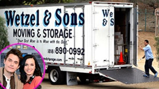 Katy Perry, John Mayer Split: Moving Truck Spotted Outside Perry's Home