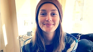 Leighton Meester Resurfaces Without Makeup After Secret Wedding to Adam Brody: Picture