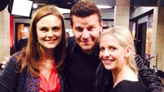Sarah Michelle Gellar and David Boreanaz Reunite: Buffy the Vampire Slayer Costars Picture