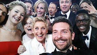 Ellen DeGeneres Takes Oscars 2014 Group Selfie With Jennifer Lawrence, Angelina Jolie, Meryl Streep and More: Amazing Photo