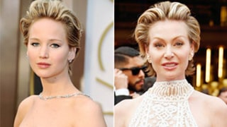 Jennifer Lawrence and Portia de Rossi's Short Hair at the 2014 Oscars: Who Wore It Best?